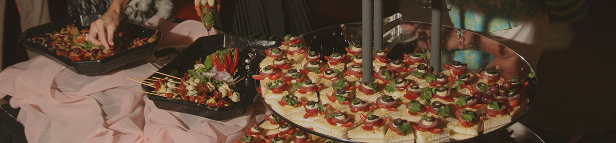 Catering at the Roberts Center