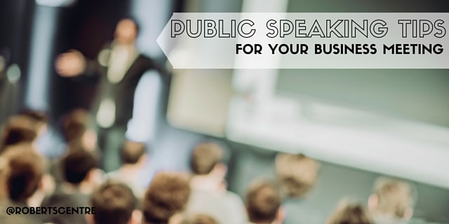 public meeting speaking tips image