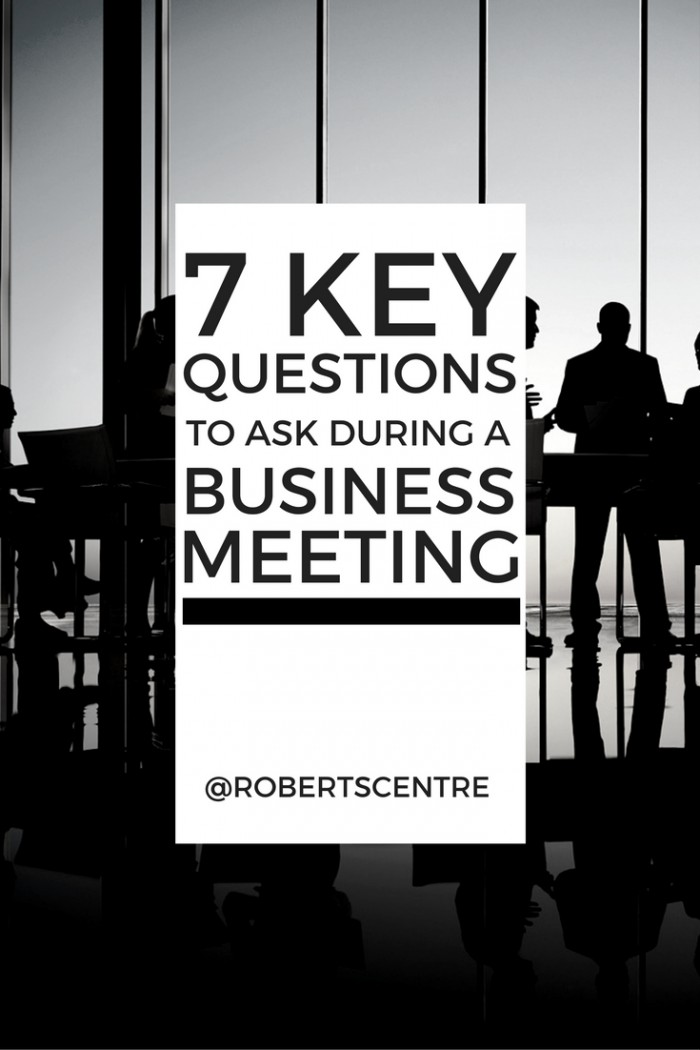 7 QUESTIONS Roberts Centre image