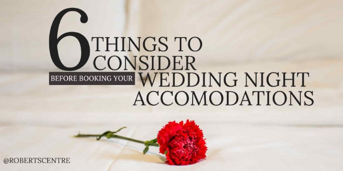 wedding night accommodations