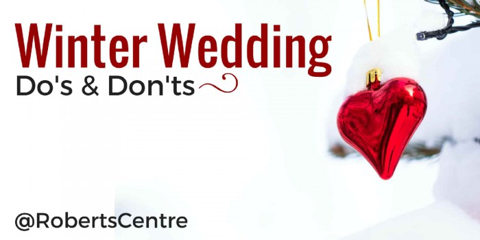 winter wedding dos and don'ts